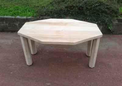 achthoekige tafel