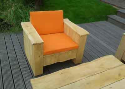 Loungeset stoel