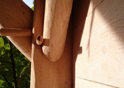 Overkapping plat dak
